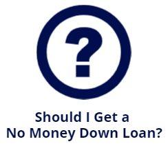 should i get no money down loan