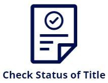 status of vehicle