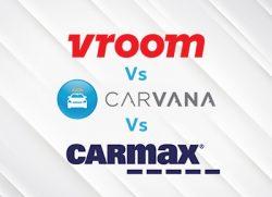 vroom vs carvana vs carmax